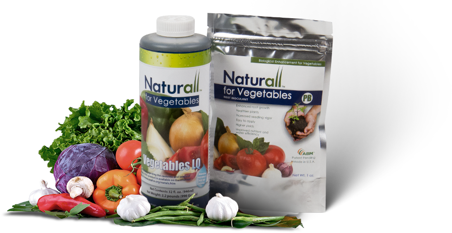 Vegetable Contains Naturall for vegetables advanced biological marketing abm1st naturall for vegetables contains proprietary and patent pending biologicals that colonize the root system of plants root colonization by this product can workwithnaturefo