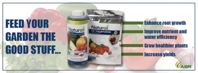 Naturall™ for Vegetables Results in Healthier Plants and Increased Yields