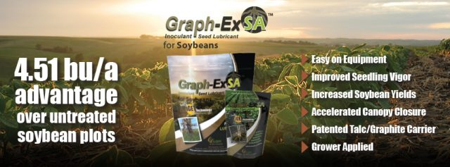 Graph-Ex SA™ – Leading Inoculant Seed Lubricant for Soybeans