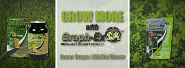 Grow More with Graph-Ex™ SA for Alfalfa/Clover and Cover Crops